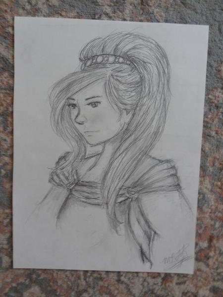 Lady with the Headband