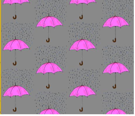umrbella raindrops pink