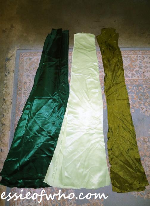 anna coronation dress skirt pannels