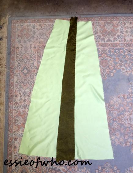 anna coronation dress skirt lining3