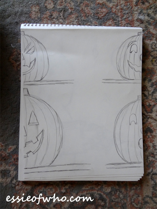jack-o-lantern-sketch